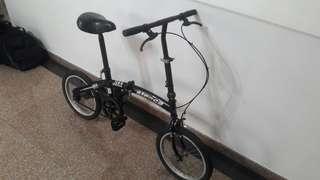 "Aloeca folding bike 16"""