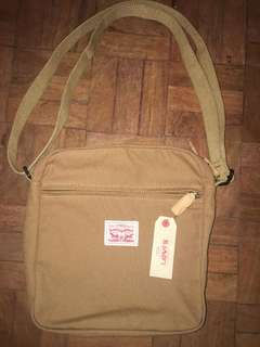 Levis canvas sling bag