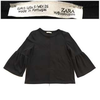 Zara Funnel Sleeves Top