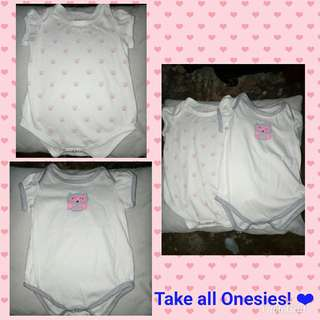 Preloved Onesies.