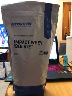 My protein Impact whey isolate 分離乳清蛋白
