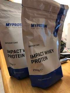 My protein impact whey protein 限量版 生日蛋糕味