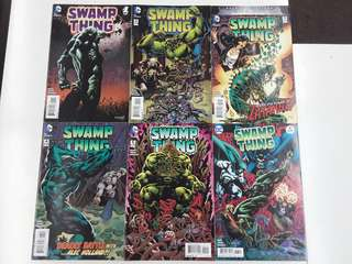 Swamp Thing The Dead Don't Sleep TPB (2016 DC) Comics Set