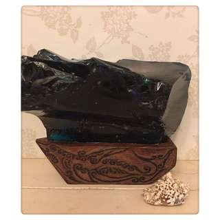 🚚 火山琉璃 木作雕刻