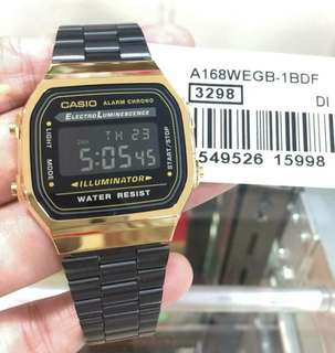 Casio Vintage - Black Gold edition
