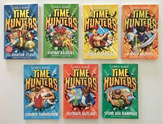 Time Hunters books by Chris Blake