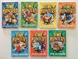 Time Hunters books by Chris Blake