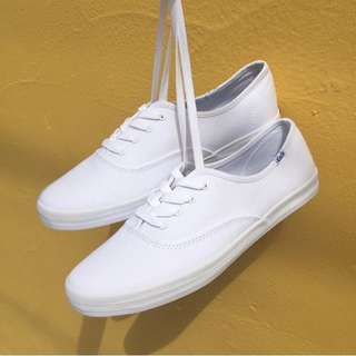 Keds White shoes in Leather