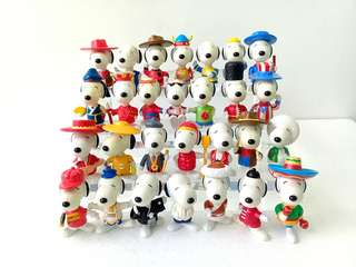 Limited Edition World Snoopy Collection