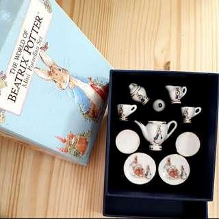 The World Of Beatrix Potter Mini Porzellan Set