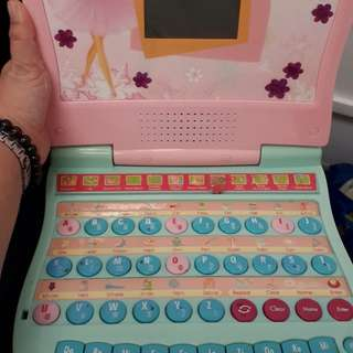 Barbie Education Laptop