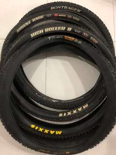 Maxxis High Roller 2 / Ardent Race / Trail King Tyres