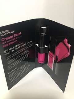 Moonshot Cream Paint 104 Pink Punch