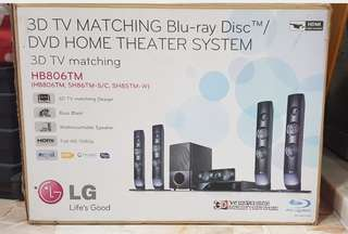 LG Blu Ray Home Theater (Almost New)