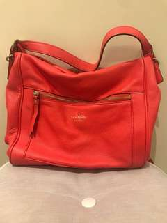 Kate spade (authentic) bright red bag