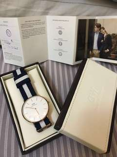 DW- Daniel Wellington 男裝手錶