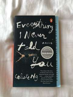 everything i never told you by celeste ng