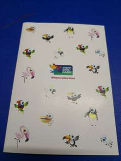 Note book stickers batches etc