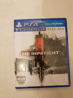The Inpatient for PlayStation 4 (PlayStation VR Required)