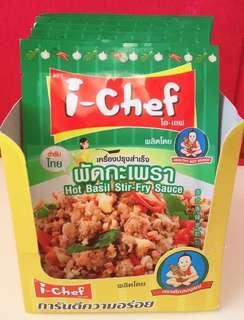 🚚 泰國i-chef 泰式打拋豬醬料包