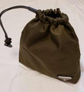 Prada 多用途索繩袋連兩用带