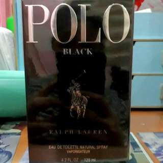 Polo Black Men