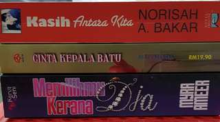 3 Malay Novels for the price of 1