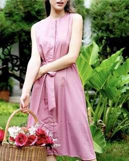 Arianna pink dress