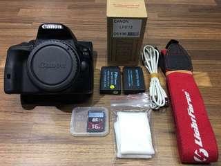 🚚 曙光數位 Canon 100D Body 單機身 / 快門數:5154