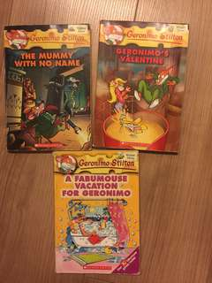 Children Storybooks G.stilton (5 books $5)