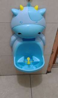 Cute children kid potty urinal training portable wall hung
