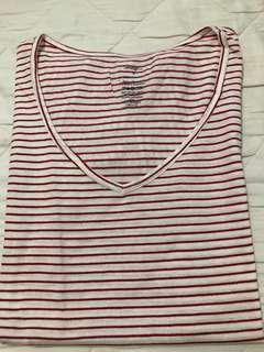 George striped shirt