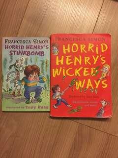 Horrid Henry by Tony Ross 2for$2