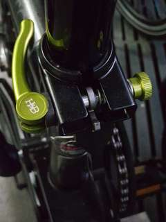 Brompton NYC edition seatpost clamp