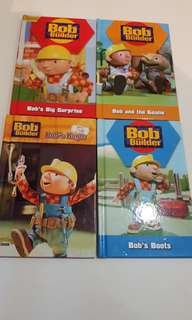 Bob the Builder Books x 4