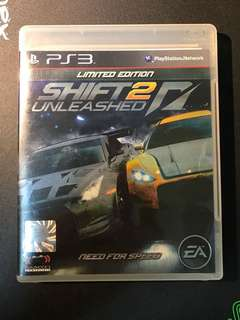Shift 2 Unleashed!  -  PS3 CD Original