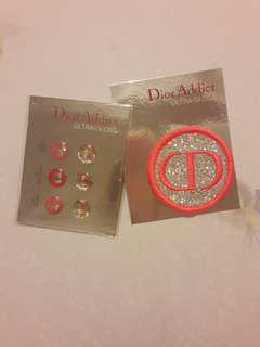 Dior 閃亮胸針 (送6顆Dior home鍵貼)