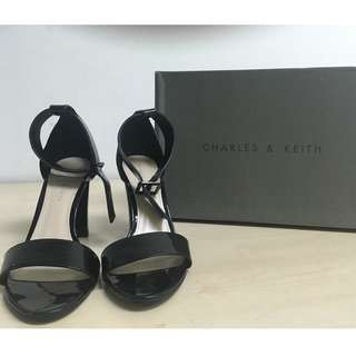 Charles and Keith Open Toe Shoes