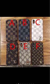 LV and GUCCI Phone Case