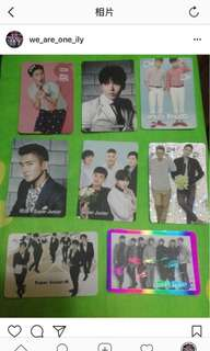 Super junior yescards