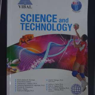 VIBAL: Science and Technology K-12 Grade 9