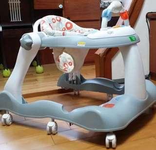 🚚 創寶貝三合一學步推車