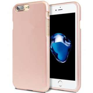 Goospery iPhone 7+ / 8+ Plus i-Jelly Metal Soft Case