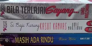 3 Novel Melayu dengan harga RM20