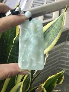 🚚 細糯厚料冰種關公