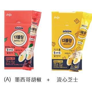 韓國 天下壯士 墨西哥胡椒/魚肉/流心芝士腸優惠裝 (A /B )