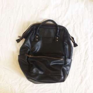 TLSM backpack leather