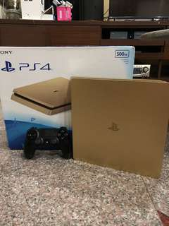 Ps4 slim 500gb gold limited edition jailbreak