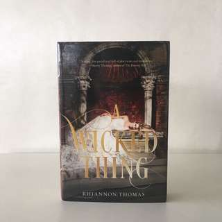 A Wicked Thing by Rhiannon Thomas