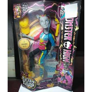 MONSTER HIGH Freaky Fusion Freaky Fusions Neighthan Rot First Release Doll
